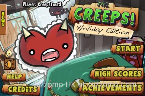 The Creeps! 情人節版本開放下載