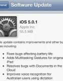 繼 Apple 約於一個月前發佈的 iOS 5.0.0 正式版本, 爆出電量問題後, 用家抱怨紛紛. Apple 於本周早期推出數個 iOS 5.0.1 Beta 開發人員測試版本後, 於今早對外發佈了 iOS 5.0.1 的 iOS 更新修正版本....