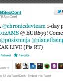 目前, iOS 破解社區一眾高手目前均雲集於荷蘭阿姆斯特丹的 HITB 2012 會議. 早前 Gizzomo 亦報導過 Pod2g 及 Chronic Dev Team 將會在 HITB 會議進行一個小時的演講, 具體時間為 05 月...